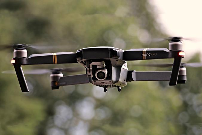 Dron a l'aire