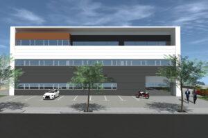 Render Edifici Industrial Aïllat