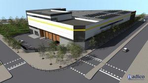 New Logistics Building Project