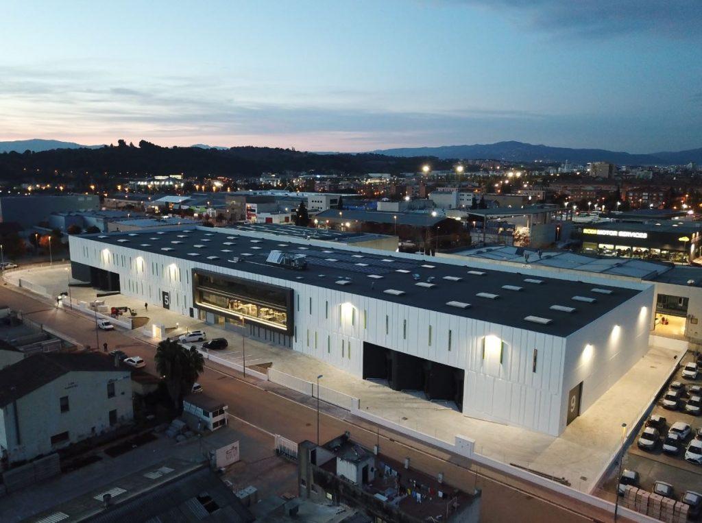 Edificio Industrial Diseño singular