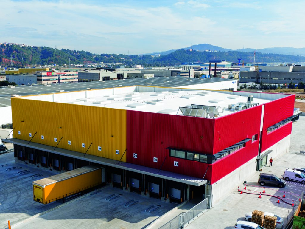 New Logistics Warehouse Building