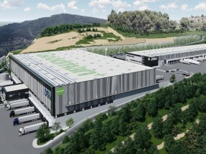 First Multilevel Logistics Building in Spain