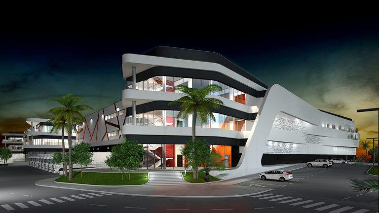 Edificio Industrial Proyecto Ingeniería BIM