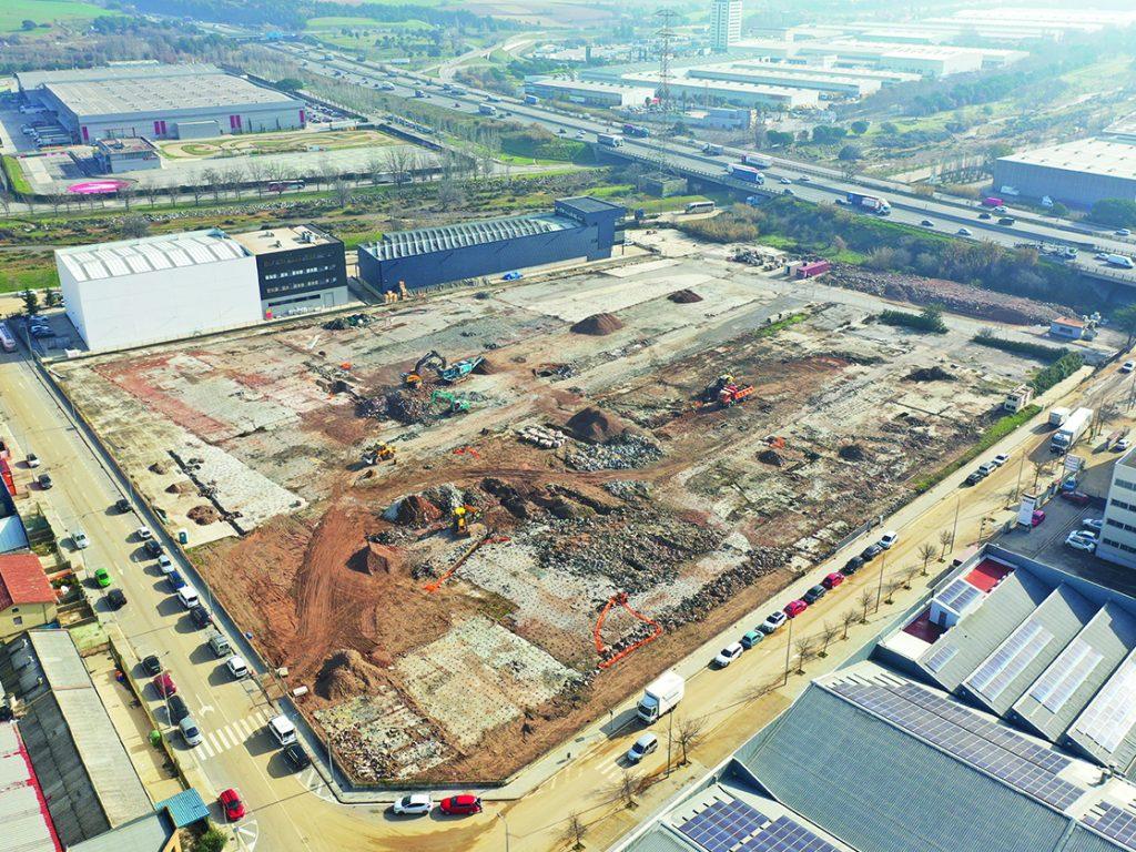 Nuevo Proyecto de Edificio Industrial Aislado