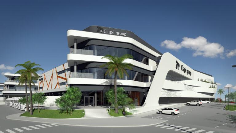 Edificio Logístico Ingeniería Nadico