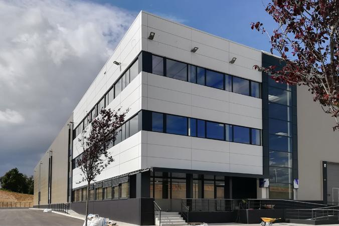 Fachada Edificio Industrial