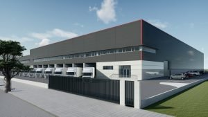 Render Edificio Industrial